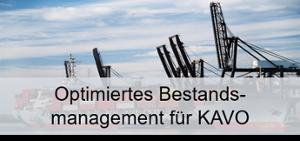 Optimierung Bestandsmanagement für Kavo Banner