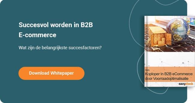 E-boek: Koploper in B2B E-commerce door voorraadoptimalisatie
