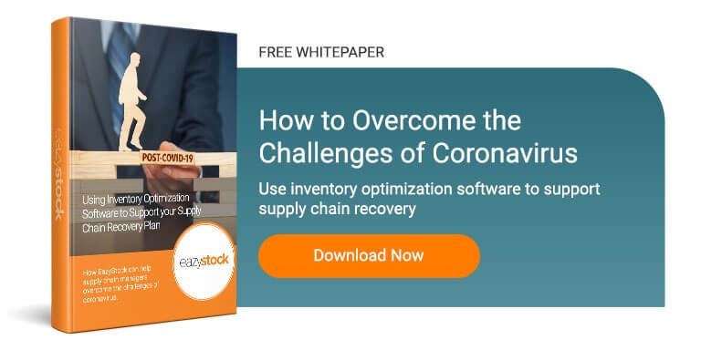 Whitepaper Using inventory optimization software supply chain recovery plan