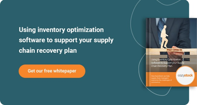 Whitepaper - Using inventory optimization software supply chain recovery plan