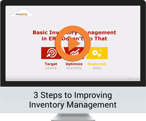 3 Steps to Improving Inventory Management