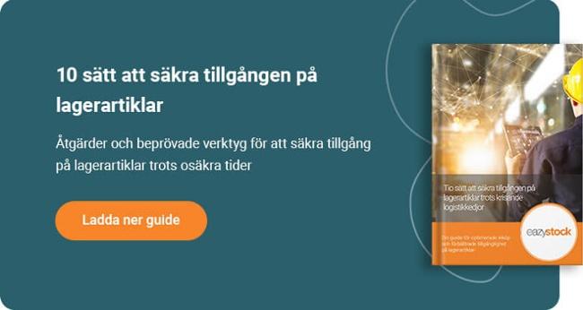 Guide - Tio sätt att säkra tillgången på lagerartiklar trots krisande logistikkedjor