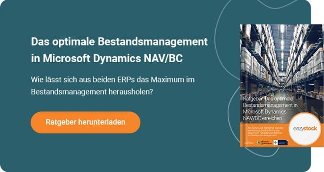 Ratgeber Das optimale Bestandsmanagement in Microsoft Dynamics NAV BC erreichen