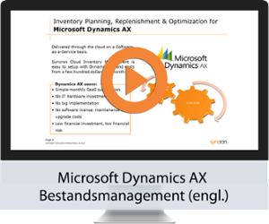 Inventory Optimization Software for Microsoft Dynamics AX