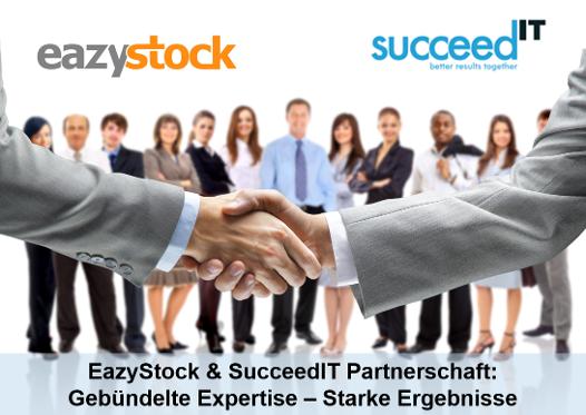 Partnerschaft EazyStock und SucceedIT