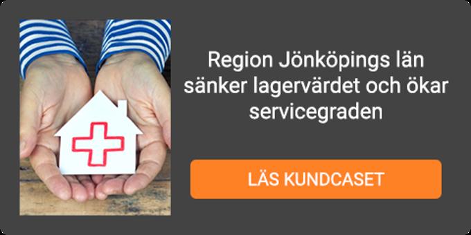 Läs kundcaset - Region Jönköpings län