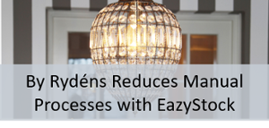 By Rydens Reduces Manual Processes with EazyStock