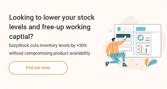 EazyStock Why EazyStock Reduce Inventory Levels