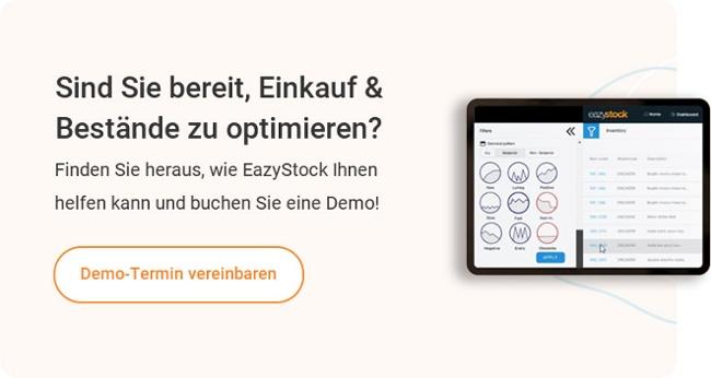 Buchen Sie eine Live Demo von EazyStock