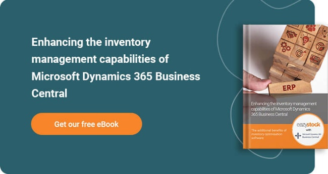 eBook - Enhancing the inventory management capabilities of Microsoft Dynamics 365 Business Central​