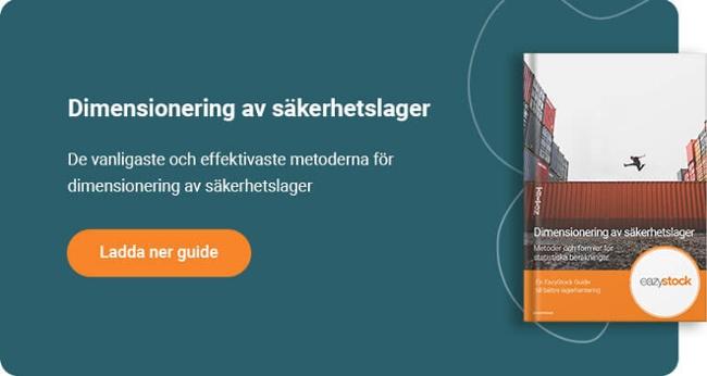 Guide - Dimensionering av säkerhetslager