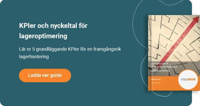 EazyStock's guide till KPIer och nyckeltal för lageroptimering