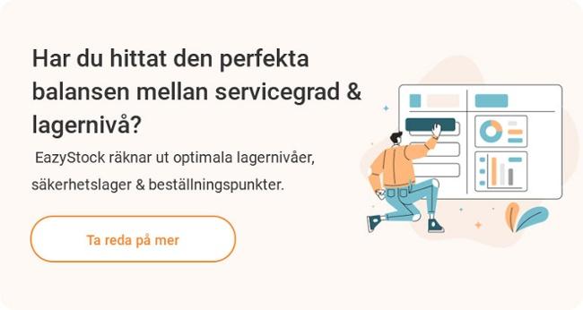 EazyStock Mjukvara Lageroptimering