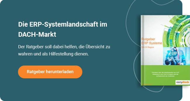 ERP Systeme DACH Region