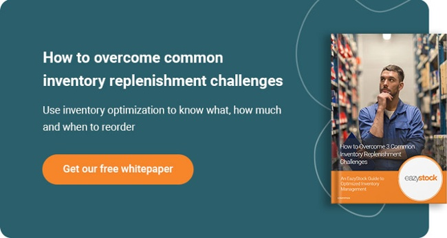 Whitepaper - Overcome 3 Common Inventory Replenishment Challenges