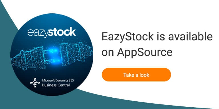 EazyStock Connector for Business Central on AppSource