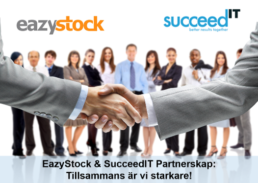 Partnerskap EazyStock & SucceedIT