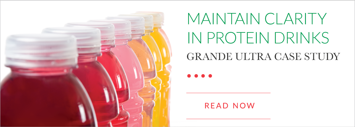 Grande Ultra Protein Drink Case Study