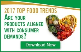 Top Food Trends for 2017 and Beyond