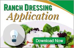 Ranch Dressing Application