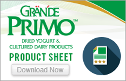 Dried Yogurt & Cultured Dairy Product Sheet