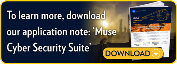 To learn more download our application note: Muse Cyber Security Suite