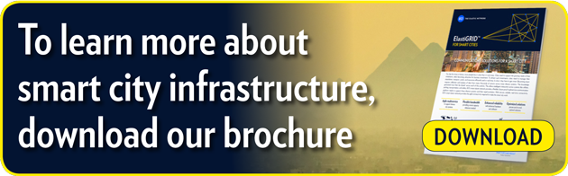 To learn more about smart city infrastructure,  download our brochure