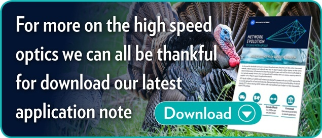 Here's more on the high speed optics we can all be thankful for, download the application note