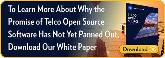 To Learn More About Why the Promise of Telco Open Source Software  Has Not Yet Panned Out, Download Our White Paper