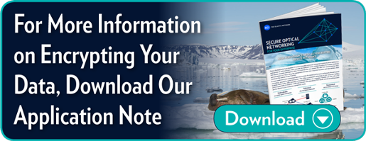 For More Information on Encrypting Your Data Download Our Application Note
