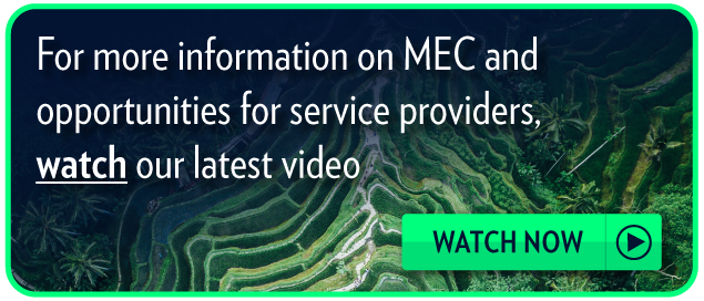 For more information on MEC and opportunities for service providers, watch our  latest video: MEC Congress 2017