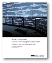 White Paper Download: Deliver ROI with an Effective MES
