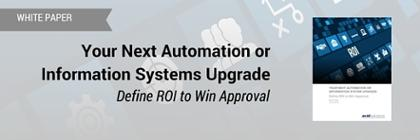 White Paper Download: Your Next Automation or Information System Upgrade