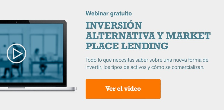 Inversión alternativa y marketplace lending