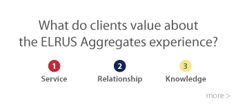 Elrus Aggregates - what do clients Value