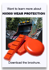 Sandvik HX900 Wear Protection