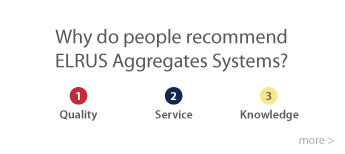 Elrus Aggregates - why do clients recommend Elrus eqipment