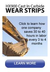 sandvik hx900 wear strips can save you money