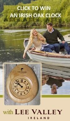 Win an Irish Oak Clock with Lee Valley Ireland