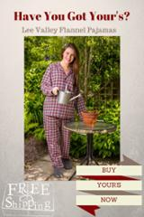 Lee Valley Flannel Pajamas