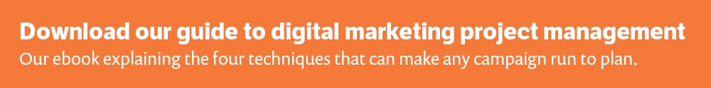 Download our guide to digital marketing project management