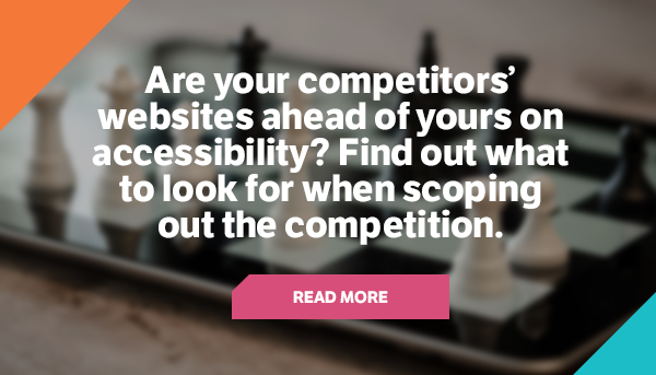 Competitors Website CTA