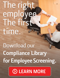 Compliance Library for Employee Screening CTA