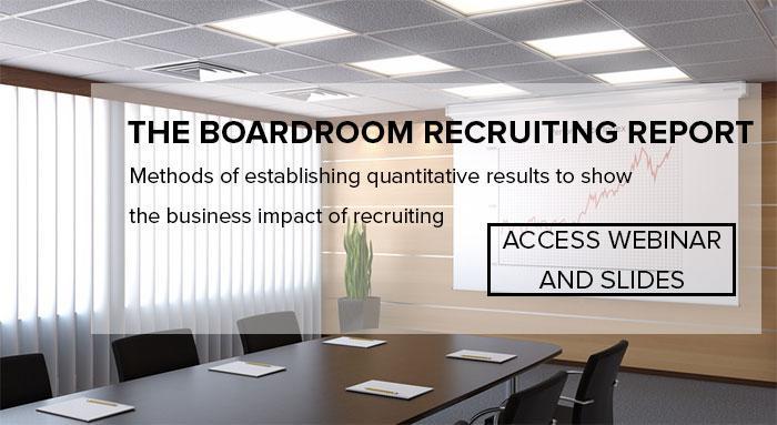 Access Webinar: Boardroom Recruiting Report