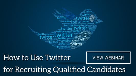 using twitter for recruiting