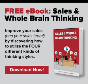 Sales & Whole Brain Thinking eBook