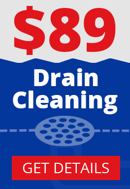 $89 drain cleaning special