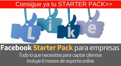 Facebook Starter Pack para empresas