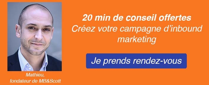 Rendez-vous conseil inbound marketing