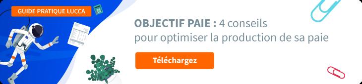 """Télécharger le guide pratique """"Objectif Paie : 4 conseils pour optimiser la production de sa paie."""""""